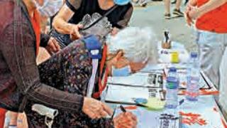 市民签名撑国安立法 热爆街站
