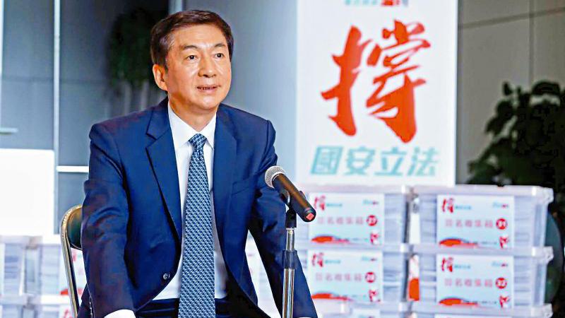駱惠寧:國安立法是人心所向
