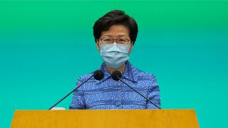 林鄭月娥:美國對港制裁措施損人不利己 打擊雙方經濟