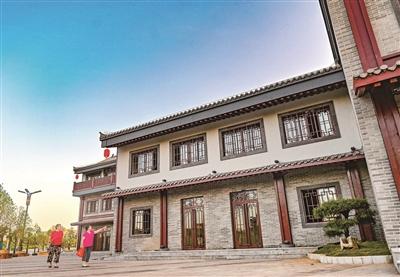 河南洛陽:里坊改造項目仿古街道初露芳容
