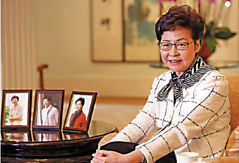 ?林郑:国安立法令港金融地位更上层楼