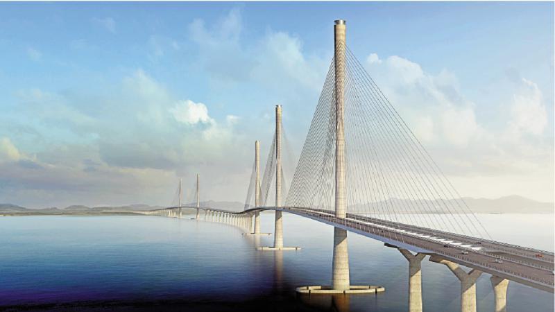 ?湾区开建黄茅海跨海通道