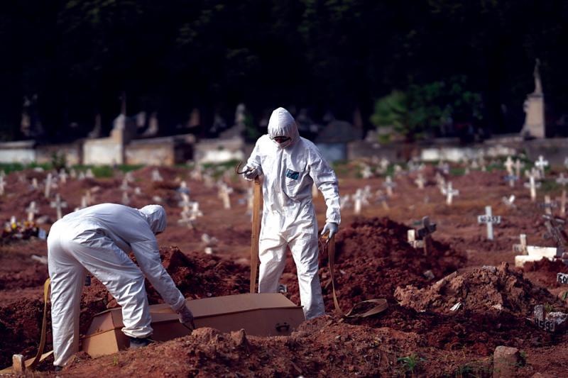 ?巴西刪疫情數據 僅報每日新增人數