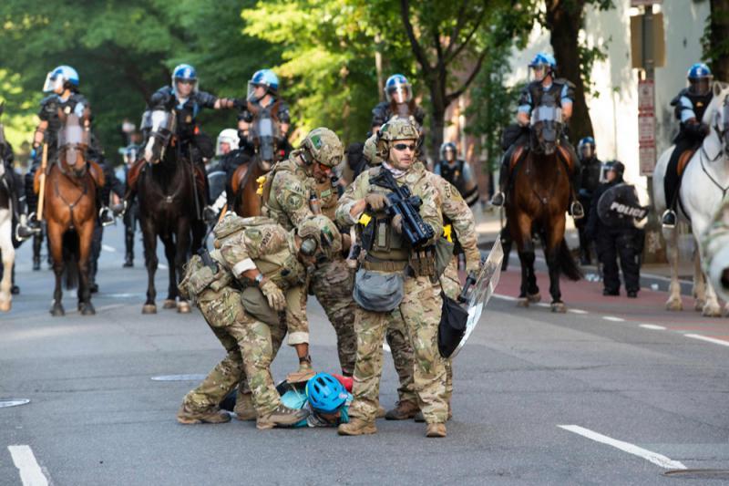 ?美国五大军警地步分类