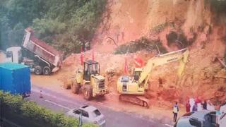 受滑坡影響的廣東高速路段已基本恢復交通