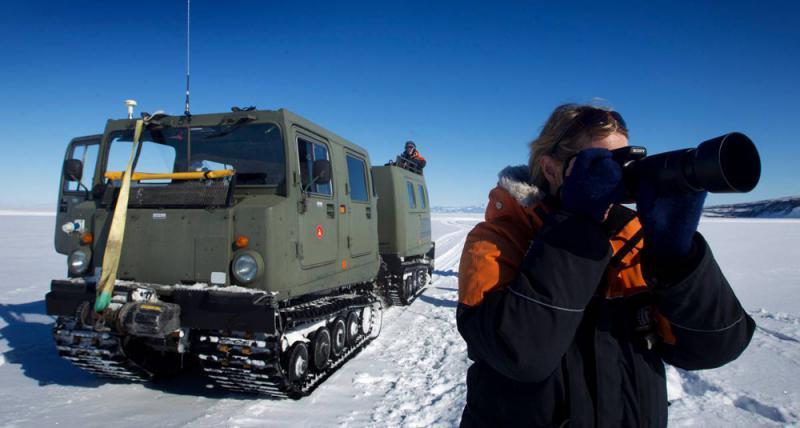 ?纽减科研�项目 防正好病毒入侵南极