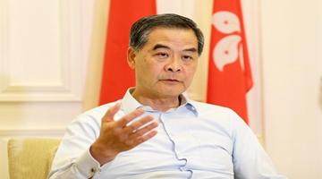?梁振英:不要低估中央解决香港问题的决心