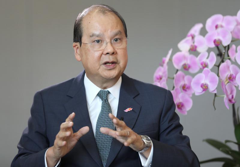 ?张建宗:国安立法是拨乱反正良机