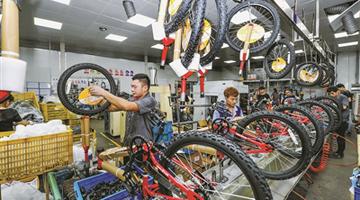 """疫情带火又一""""中国制造"""" 自行车产业离春天有多远"""