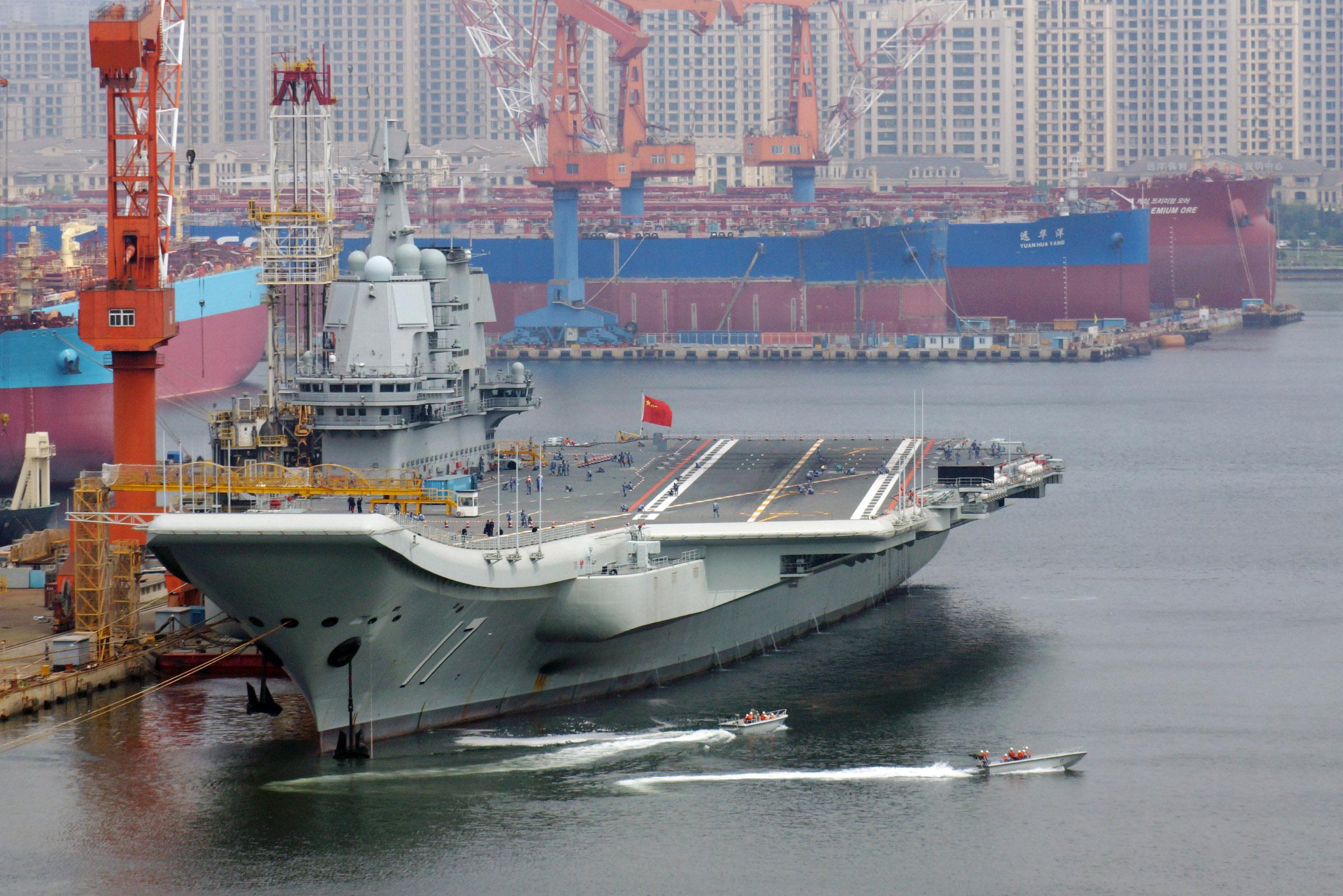 山东舰完成年度首次出手机看本港台海试验训练!