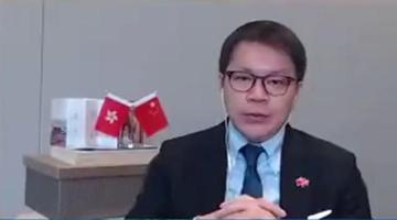 香港立法会议员:香港年轻人该多去内地 别坐井身上九彩光芒�[�[�W�q观天