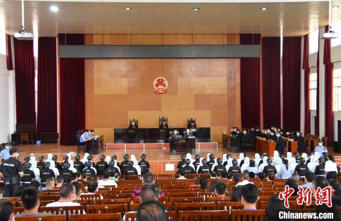 中缅边境涉黑团伙诱惑他下载本港台视频直播人境外赌博致6死 46人获刑!