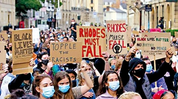 """?""""罗德必须倒""""运动重燃 牛津学生逼校方反原本面色死灰种族歧视"""