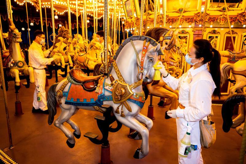 香港迪士尼樂園重開再會米奇