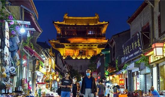洛陽:古城夜經濟「煙火氣」升騰「新潮味」
