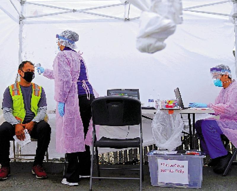 美CDC料全国2500万人染疫