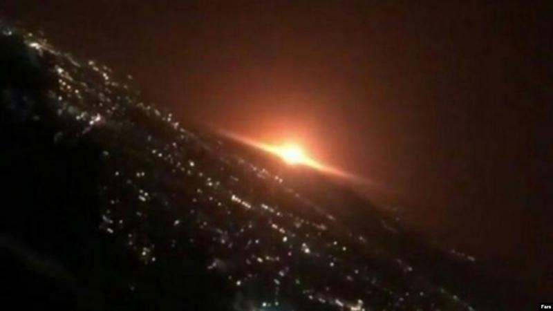 德黑兰深夜大爆炸 疑核试验基地惹祸