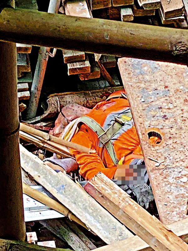 工字铁断裂 地盘工人堕楼亡