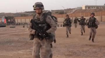 解放军最新装备,率先亮相我军首个海外基地