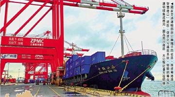 粤港澳大湾区建智慧港口 支持香港开拓高端航运业