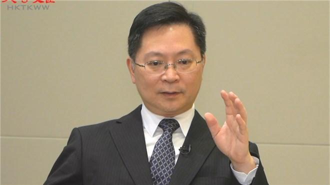 创科局局长薛永恒:期待「港区国安法」令香港创科环境重拾动力