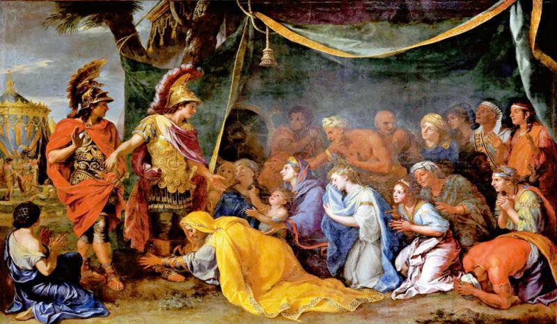 ?藝加之言\《亞歷山大大帝腳下的波斯皇后》\王 加