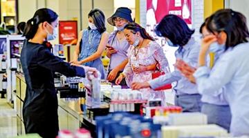 商务部:中国消费市场逐月加快回暖