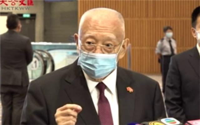 董建华:「香港国安法」是好开始 吁社会放下分歧