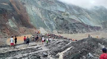 缅甸帕敢翡翠矿区塌方至126人遇难