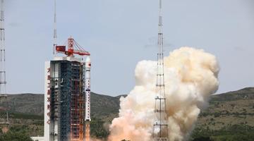 """中国成功发射高分多模卫星和""""西柏坡号""""青少年科普卫星"""