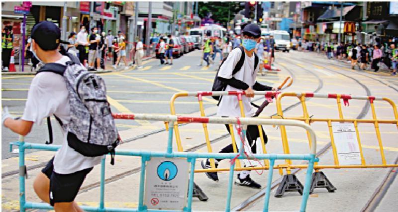 ?免於黑暴恐惧的自由/香港菁英会副主席、香港五邑总会副理事长 梁秉坚