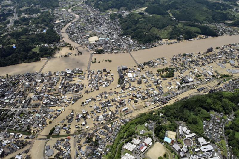 ?日本九州豪雨成灾 护老院14人恐罹难