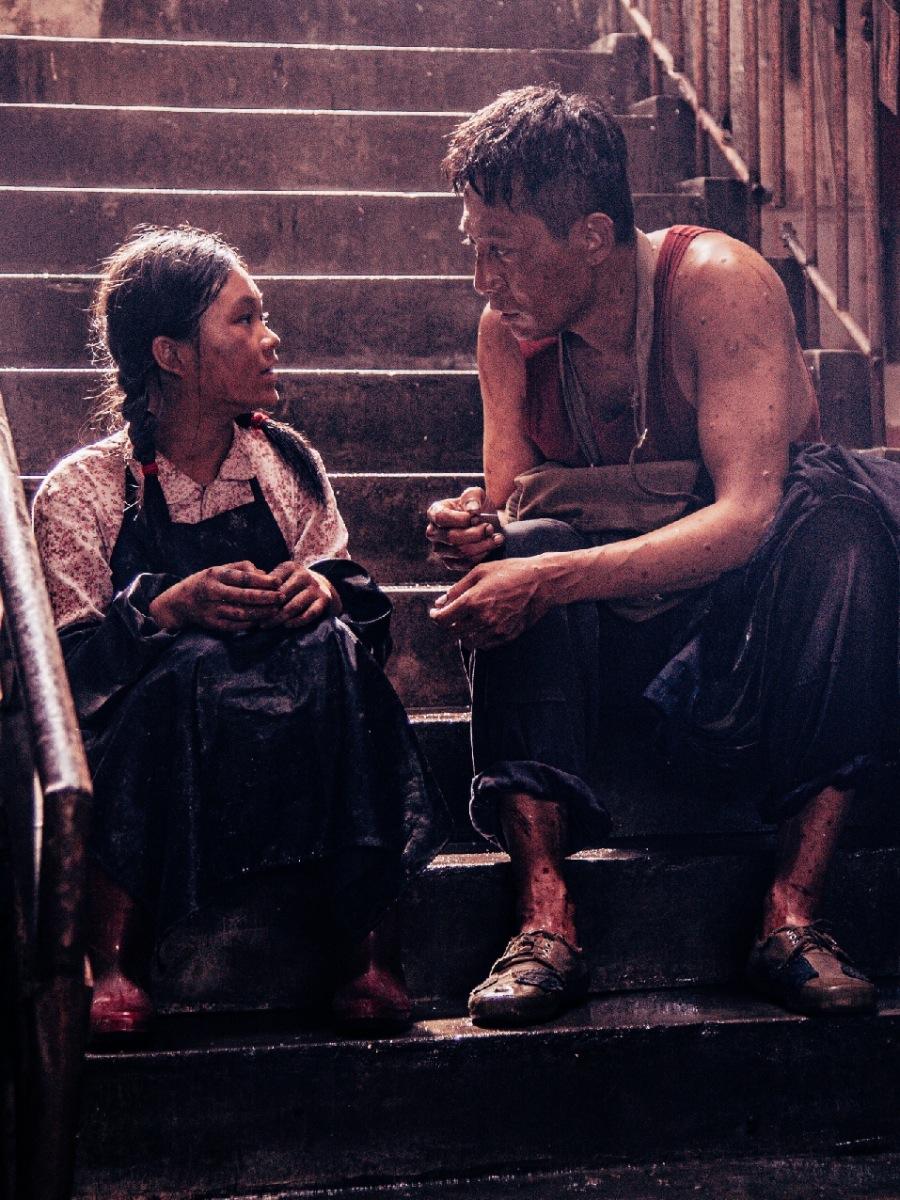 卢奇10岁孙女徐砡 与刘烨合作《守岛人》首登大屏幕