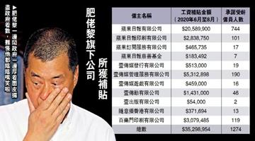 """?壹传媒抹黑政府 照获3500万元""""保就业""""补贴"""