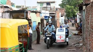 ?近70万人感染新冠肺炎 印度确诊数全球第三