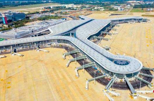 ??诿捞m機場二期擴建項目料年內運營