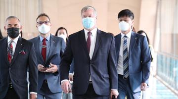 """美副國務卿訪韓 朝鮮重申無意與美""""面對面""""對話"""
