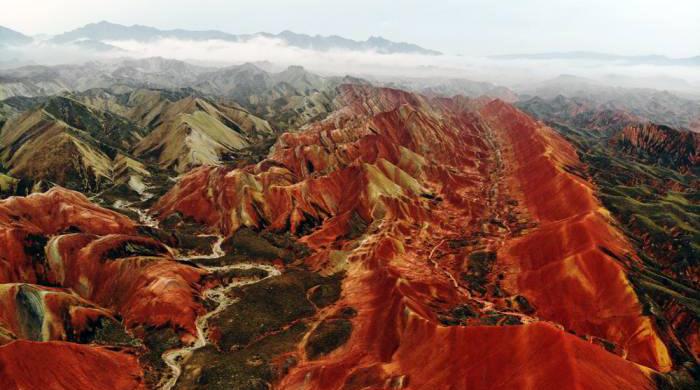 甘肅張掖地質公園晉級「世界地質公園」