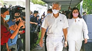"""?""""反假新闻法""""打击不实信息 护航新加坡大选"""
