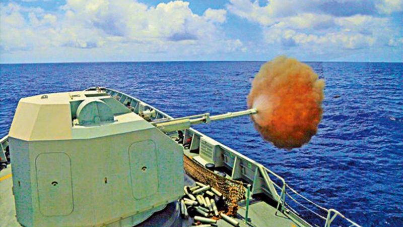 ?美国妄议解放军南海演习 国防部批颠倒黑白
