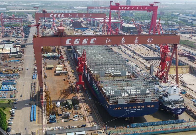 ?中國造船業三大指標世界居首