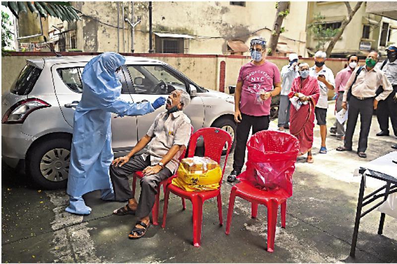 一周确诊增20% 印疫情恶化全球最快