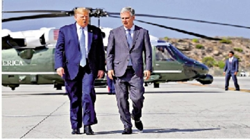 美总统国安助理奥布莱恩新冠阳性 为现时确诊的白宫最高级官员