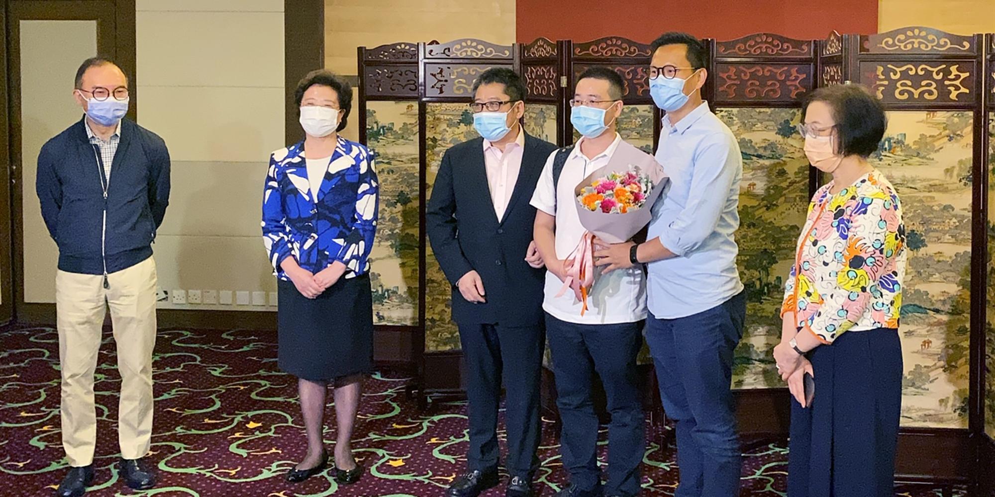 内地核酸检测支援队:目标提升香港每日检测量至近20万