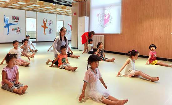 中牟郑庵镇综合性文化服务中心暑期公益舞蹈班启动