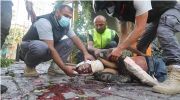 黎巴嫩贝鲁特港口区大爆炸已致73人死亡、3700人受伤