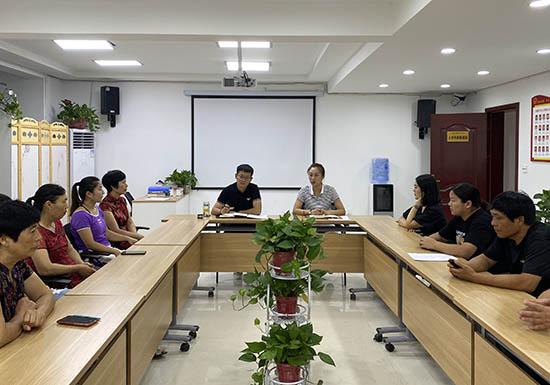 """中牟大孟镇让文化活动在茶庵社区""""火""""起来"""