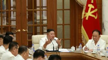 金正恩主持会议讨论疫情防控与台风应对工作