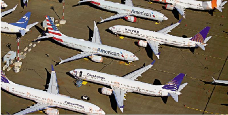 ?全球32%飞机停飞 40万员工失业停薪