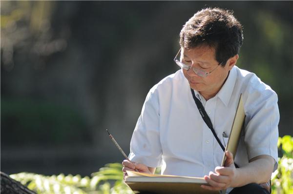 《盛世中华》携手画家贺建国71周年双同庆特刊——张碧伟